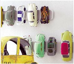 magnetic strip for matchbox cars..