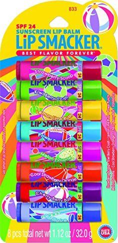 Bonnie Bell Lip Smacker SPF 24 Lip Balm - 8 Piece Party Pack Lip Smacker http://www.amazon.com/dp/B003AVI9TA/ref=cm_sw_r_pi_dp_8C8Wvb1A6ZHZN