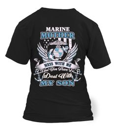 Marine Mom - Marine Mother - My Son   :Price 23.55 €