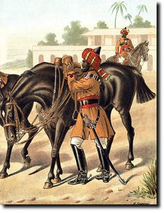 Native American History, American Civil War, Indiana, Bengal Lancer, Colonial India, British Army Uniform, Age Of Empires, Indian Army, Military Uniforms