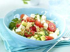 Unser beliebtes Rezept für Couscous-Salat mit Schafskäse und mehr als 55.000 weitere kostenlose Rezepte auf LECKER.de.