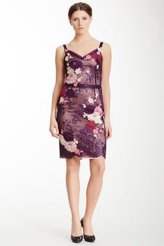 Dolce & Gabbana Floral Lace Shift Dress on @HauteLook
