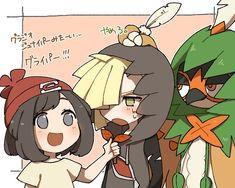 Pokemon by みう ( Decidueye Pokemon, Pikachu, Pokemon People, Pokemon Ships, Pokemon Comics, Pokemon Fan Art, Cute Pokemon, Pokemon Stuff, Pokemon Moon And Sun