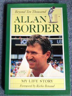 Beyond Ten Thousand: My Life Story, Allan Border.  In Today @ Canterbury Tales Bookshop / Book exchange / Cafe, Pattaya.