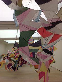 Saatchi Gallery: paper installations http://www.pinterest.com/jamiesonclare/paper/