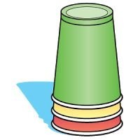 A silent Positive Behavior Support system for a quieter lunchroom? The lunch monitor of each table changes the cup on top to indicate noise levels, red means silence until further notice. Positive Behavior Management, Positive Behavior Support, Classroom Management, Class Management, Classroom Organization, Cafeteria Behavior, Student Behavior, School Classroom, School Fun