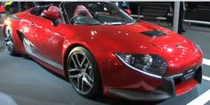 Toyotas Recent Sports Hybrid Concept II Car  Toyota has recently released th