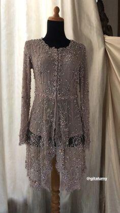 Ideas Dress Hijab Floral For 2019 Kebaya Modern Hijab, Model Kebaya Modern, Kebaya Hijab, Kebaya Muslim, Kebaya Wedding, Muslimah Wedding Dress, Hijab Bride, Wedding Hijab, Wedding Dresses