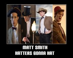 """Most people will look at this and say """"hats"""" but I love all his different bow ties!"""