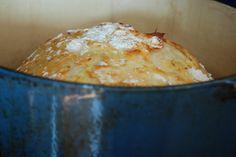 Simply So Good: Crusty Bread 3 cups unbleached all purpose flour 1 3/4 teaspoons Kosher salt 1/2 teaspoon Instant or Rapid-rise yeast 1 1/2 cups water
