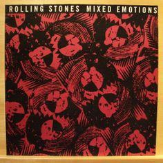 """THE ROLLING STONES - Mixed Emotions - mint minus minus - Vinyl 12"""" Maxi Top RARE"""