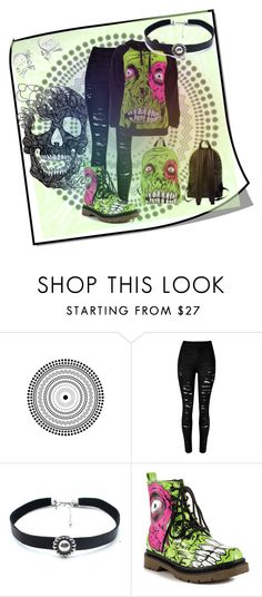 """Zombie Chomper"" by crystal0248 ❤ liked on Polyvore featuring Iron Fist, Child Of Wild and Bling Jewelry"
