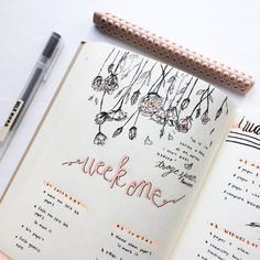 "727 Likes, 13 Comments - studygram + bujo (@studyholmes) on Instagram: ""#throwback to the first week of April! I really liked the flower design I did so I thought I'd…"""