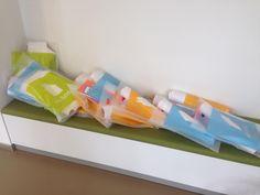 @funda @nvmopenhuis tasjes met alle promotiematerialen liggen klaar voor de deelnemers. Nu nog de #appeltaart. ^kb