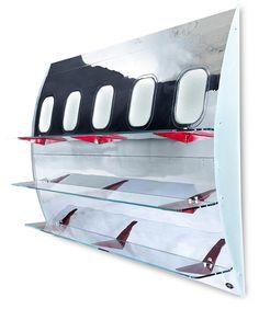 Wall-mounted Fuselage Book Shelf Can I say...Ummmm YES!