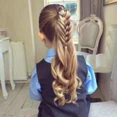 Half Birdcage Braid by SweetHearts Hair Design