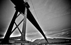 Lions Gate Bridge. #Vancouver #photography