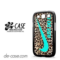 Nike Leopard Pattern Tiffany Blue Logo Colours DEAL-7910 Samsung Phonecase Cover For Samsung Galaxy S3 / S3 Mini
