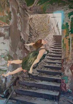 Сюрреалистические комнаты, наполненные водой (17 картин)