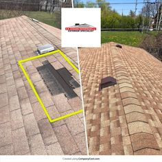 (Before and After) GAF roofing replacement in Morton Grove, IL FREE Replacement Estimates Morton Grove, Kids Dentist, International Quilt Festival, Roof Installation, Roof Covering, Roof Plan, Roofing Systems, Roofing Contractors, Roof Repair