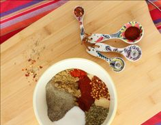 large-batch-taco-seasoning- from www.rachelcooks.com, Love that she redid the math so you can make a huge batch of this yummy seasoning, it's spicy so we add a little extra cumin and cut the chilli powder a bit :)