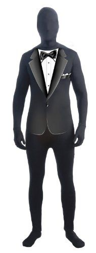 Forum Novelties Men's Formal Suit Disappearing Man Costume, Black/White, One Size  - Click image twice for more info - See a larger selection of men skinsuit  costumes at http://costumeriver.com/product-category/men-skinsuit-costumes/  - men, halloween costumes, halloween  , classic costume, holidays, event, trick or treat , gift ideas, costumes, disguise.