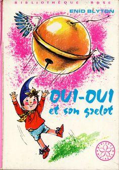 Oui-Oui et son Grelot - Eds. Hachette - Coll. Bibliothèque Rose - 1973