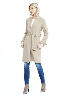 Belted wrap coat Banana Republic $298 (instead of trench?)