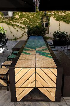 45 herring table #wood#metal#table