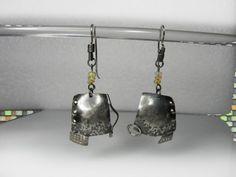 Vesna Kolobaric  by VESNAjewelryART - silver opal mismatched earrings