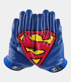 Men's Under Armour® Alter Ego F4 Football Gloves. Ideal for skill (and superhuman) players.