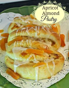Apricot Almond Pastry