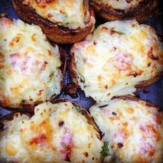 Remember these overloaded potato skins? They are so easy but incredible tasty. You can find the recipe on the blog.