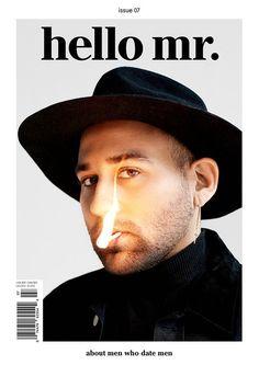 Hello Mr. #7 | Slanted - Typo Weblog und Magazin #cover #layout #design #book #magazine #editorial #graphic #doublespread