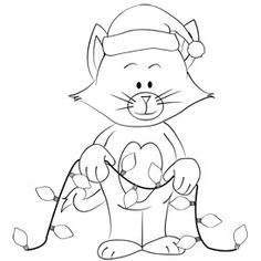 This Free Printable Christmas Kitty Coloring Sheet is free for you today to print out! Free Christmas Printables, Free Printables, Christmas Kitty, Coloring Sheets, Snoopy, Paper Crafts, Kids, Character, Art