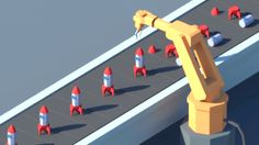 Toy Assembly Animation on Behance