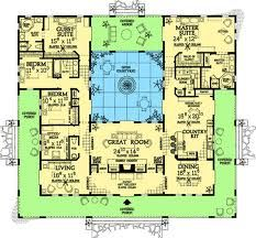 Spanish home design courtyard - Google Search