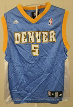 7b16b084 Available for your consideration is a pre-owned Adidas Denver Nuggets J.R  Smith kid NBA Jersey.