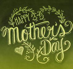 Mothers Day Card - Happy Mothers Day - Chalkboard Art - Blackboard Card - Hand Lettering- Chalk Art via Etsy Happy Mothers Day Images, Mothers Day Quotes, Happy Mother S Day, Mothers Day Cards, Happy Images, Chalkboard Art, Chalk Art, Wall Signs, Note Cards