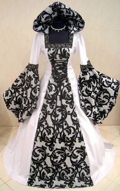 Gothic Medieval Wedding Dress