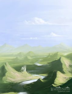 Kingdom of the river - speedpaint by *Syntetyc on deviantART