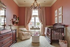 Elegant girls nursery