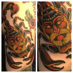 Gordon Combs of Seventh Son Tattoo