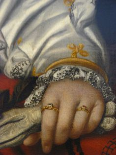 detail portrait of a lady, 1540, Moretto da Brescia, NGA Washinton DC