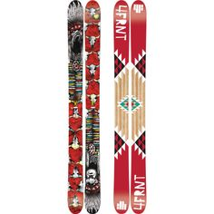 My favorite ski of all time the 4Frnt YLE...so fun and so playful....known as backcountry pow freestyle ski....it is so awesome I'm getting another pair