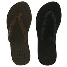 Reef - Ginger 2:  This is hands down the best flip flop I have ever owned.  My casual go to shoe for the summer - I love the way they contour to your feet after some wear.