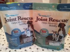 Ark Naturals Joint Rescue Treats to support mobility in your dog - Available in venison, lamb, or chicken. #GodfreysDogdom