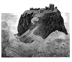 Dunnotar Castle by Hilary Paynter