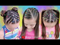 3 PEINADOS FÁCILES PARA NIÑAS 💖✨🌈 RECOPILACIÓN 💕3 EASY HAIRSTYLES FOR GIRLS - YouTube Hair Styles, Beauty, Easy Hairstyles, Youtube, Fashion, Finger Nails, Birthday Hairstyles, Braided Hairstyles For Short Hair, Loose Hair