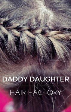On The Doctors, they shared news of the Daddy Daughter Hair Factory that teaches dads of daughters how to do both simple and more complex hair styles for their littel girls.